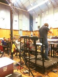 Recording in Studio 1, Abbey Road