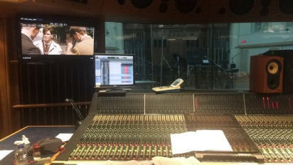 Mixing Desk at AIR Studios - The Hall