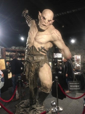 Weta Workshop has an intimidating gift shop