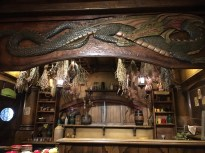 The Green Dragon Inn's green dragon