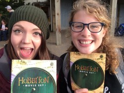 Two very excited LotR fans!