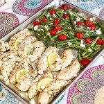 Sheet Pan Greek Chicken & Green Beans