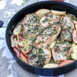 Skillet Pork Chops with Apples & Onions