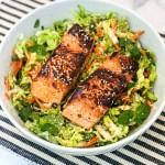 Sesame Salmon Salad