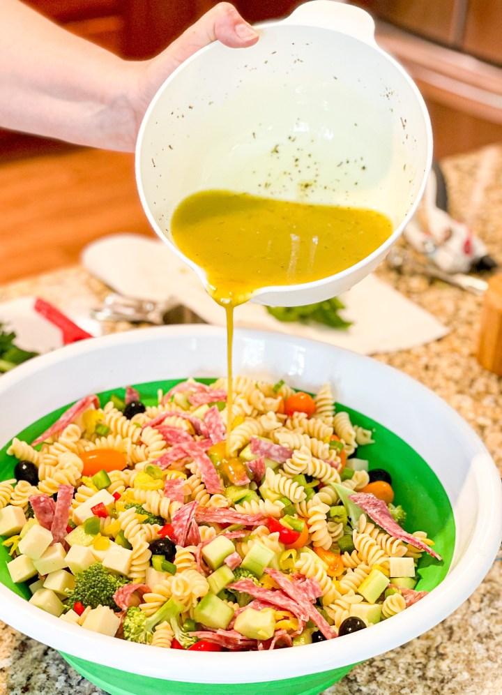 Supreme Italian Pasta Salad process