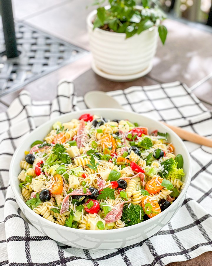 Supreme Italian Pasta Salad