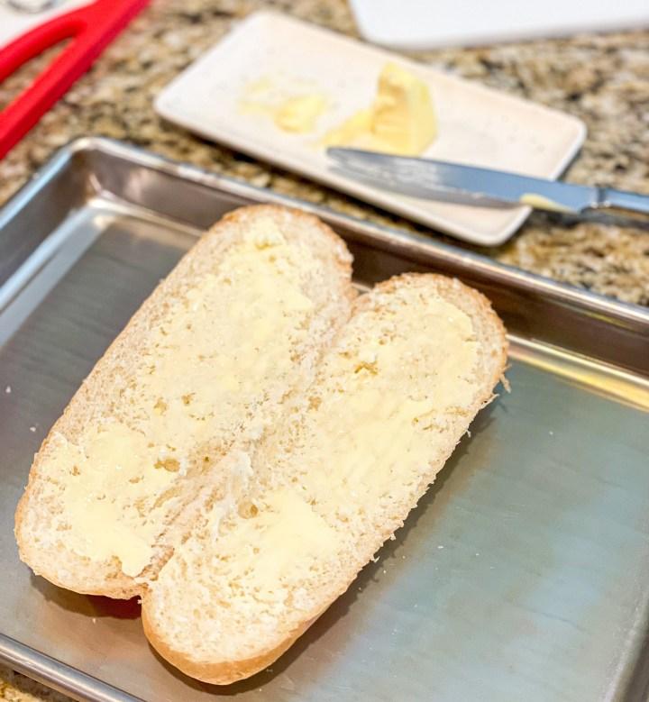 Buttered Hoagie