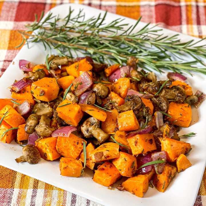 Rosemary Sweet Potato Hash