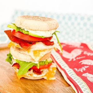 Cali Style Breakfast Sandwiches