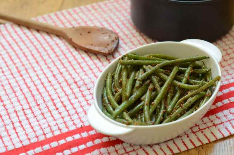 Mustard bean - the perfect accompaniment to roast beef (apart from yorkshire puddings of course!)