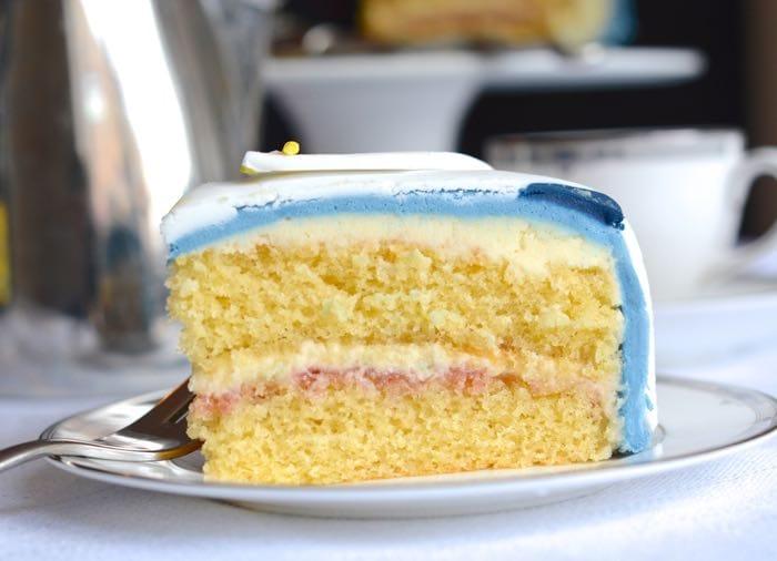 Buttercream And Jam Sponge Cake Recipe
