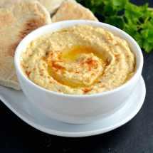 Hummus pitta