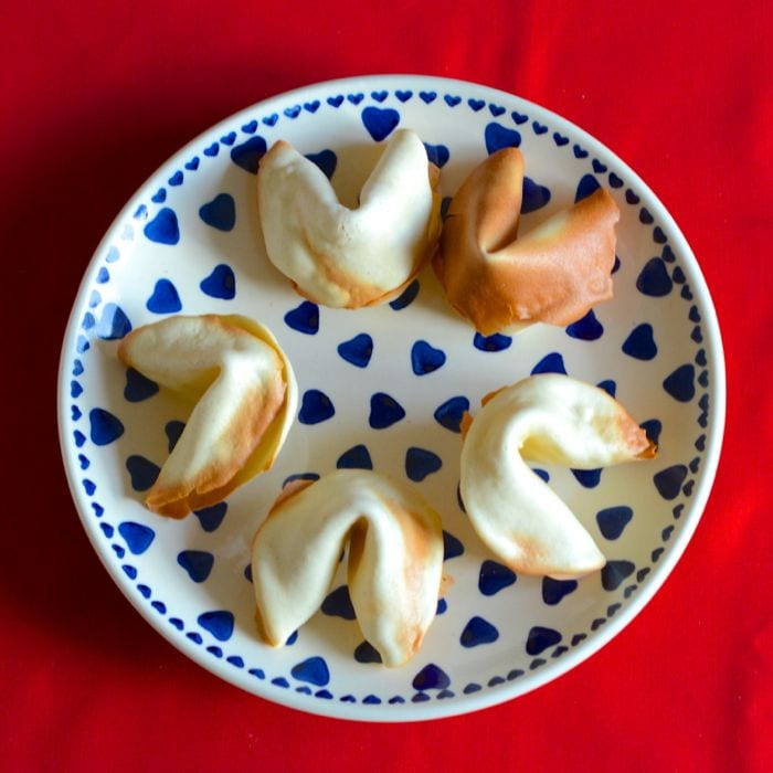 Add a fun twist to a dinner party or surprise someone with a special message with homemade fortune cookies.
