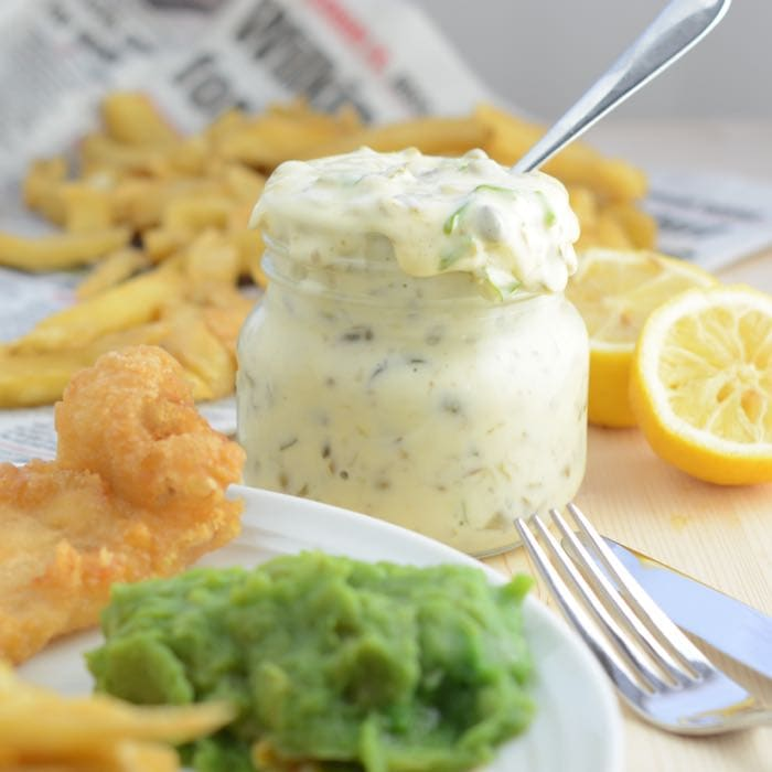 Tartare sauce charlotte 39 s lively kitchen for Fish and chips sauce
