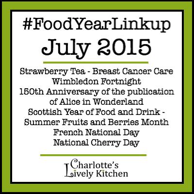 Food Year Linkup July 2015