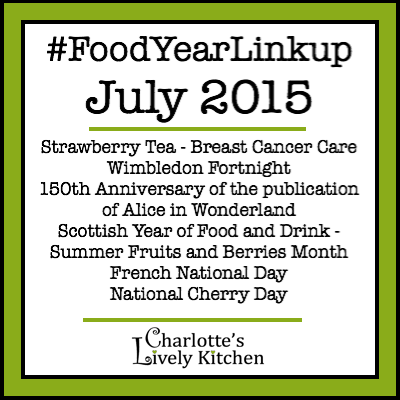 Food Year Linkup July 2015