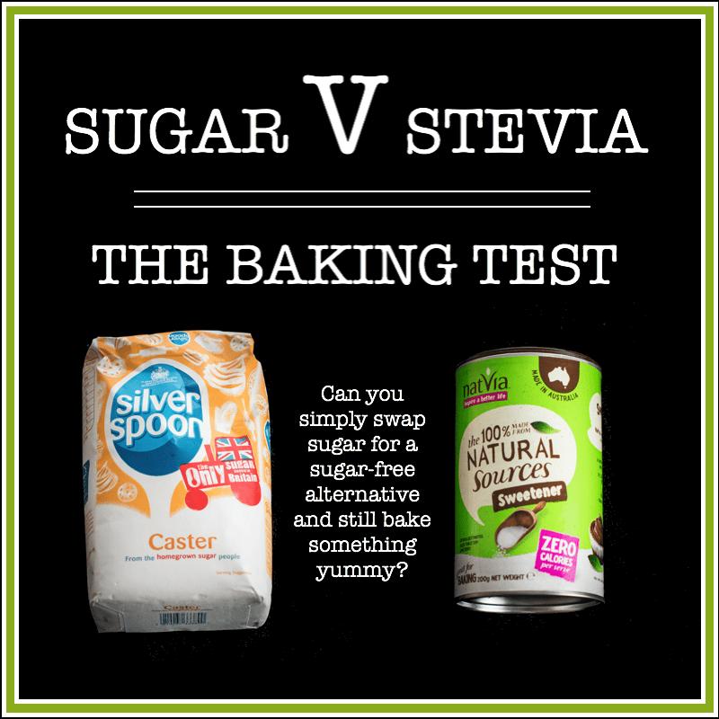 Sugar v Stevia - The Baking Test | Charlotte's Lively Kitchen