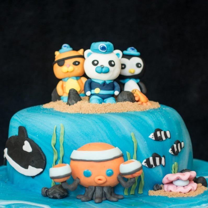 Octonauts birthday cake