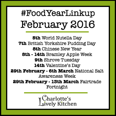 Food Year Linkup February 2016