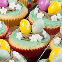 Easter Nest Cupcakes 4