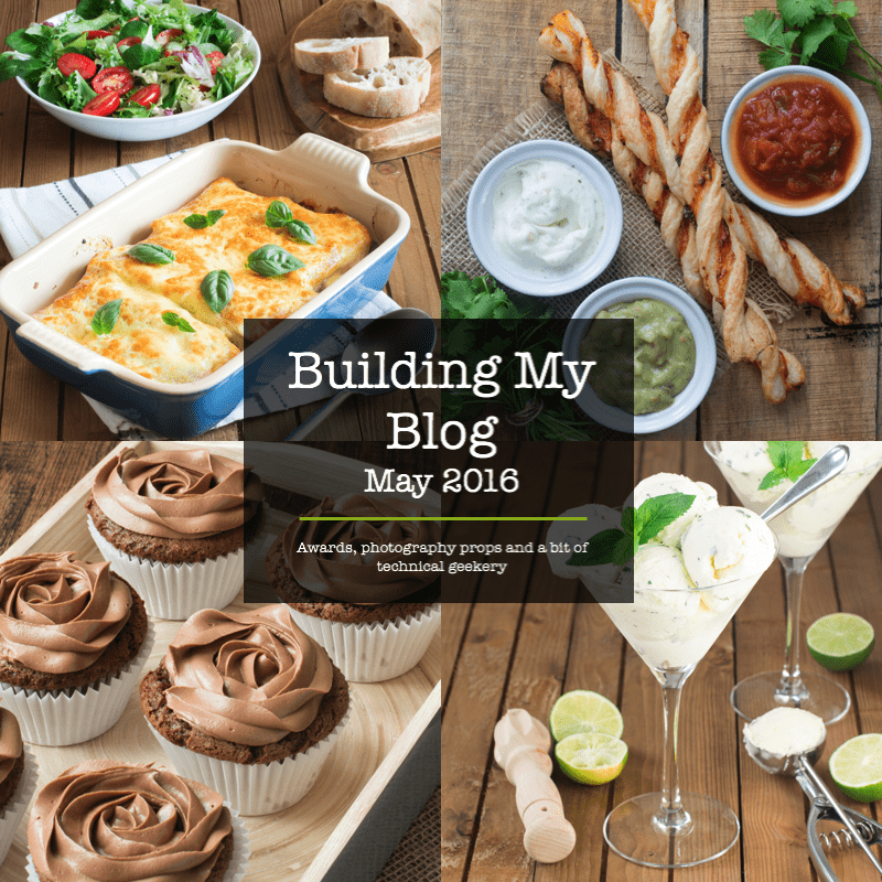 building my blog may 2016 title