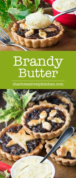 How to make perfectly smooth, delicious brandy butter in minutes, the perfect accompaniment to your festive mince pies or Christmas pudding.