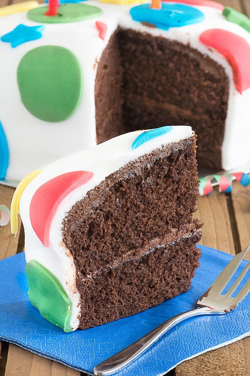 8 inch square chocolate birthday cake recipe