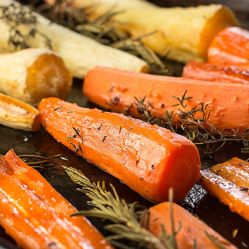 Honey Roasted Carrots and Parsnips | Charlotte's Lively ...