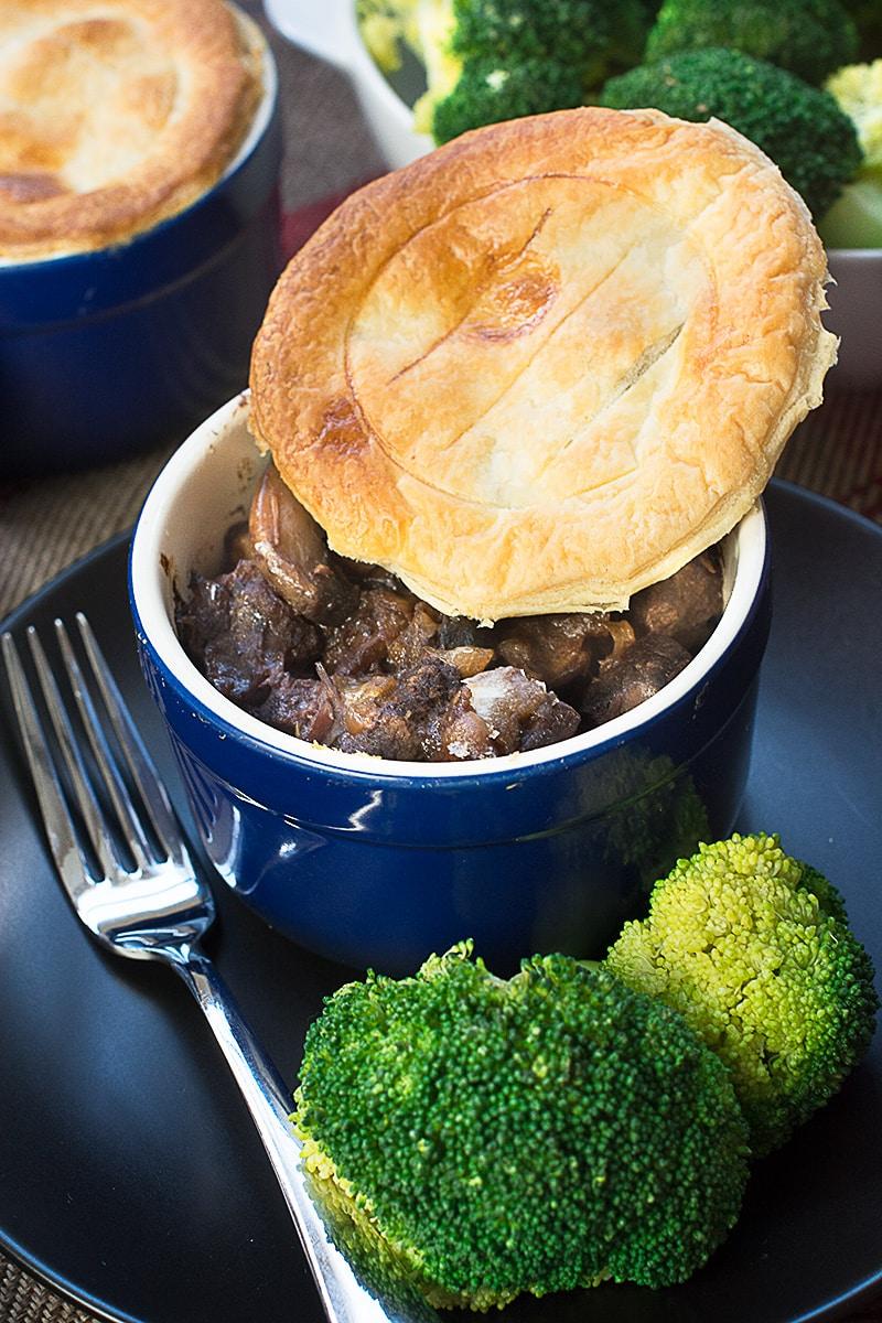 Easy Steak and Mushroom Pie | Charlotte's Lively Kitchen