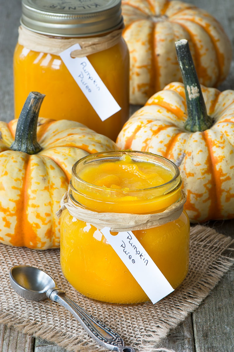 It's not always easy to find pumpkin purée in the shops so why not make it yourself? It's cheap and easy to make and you know exactly what's gone into it - just pumpkin!