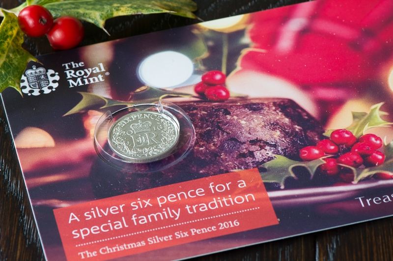 Our silver sixpence from The Royal Mint
