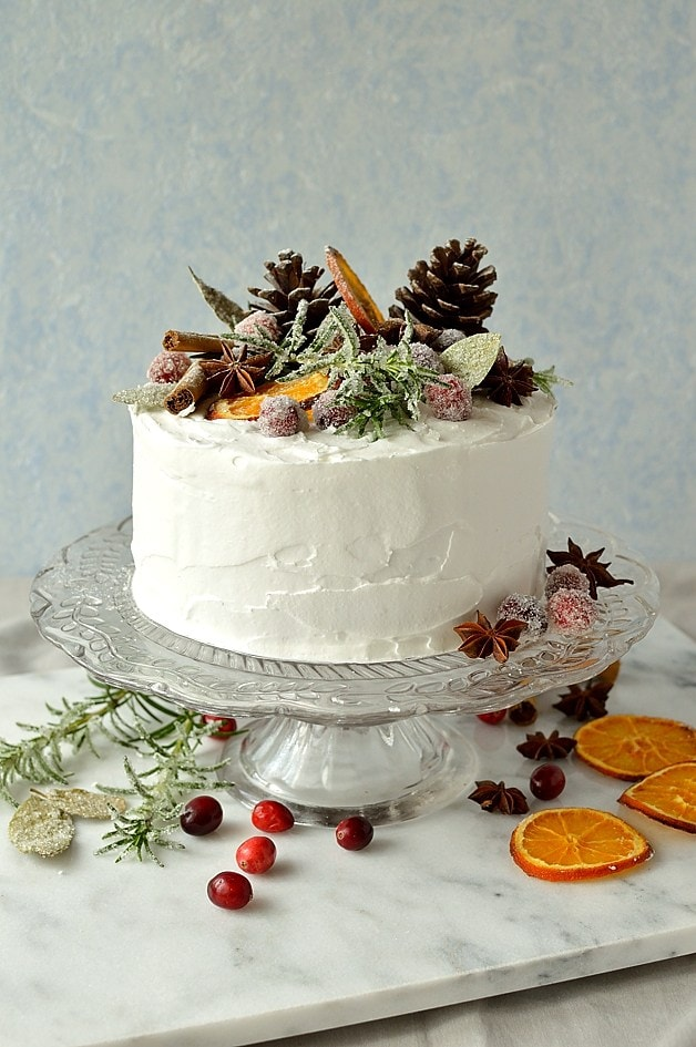 gingered-christmas-fruitcake-with-rustic-decorations-domestic-gothess