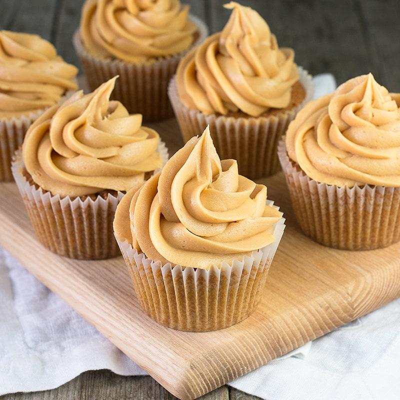 Brown Sugar Cupcakes Using Cake Mix