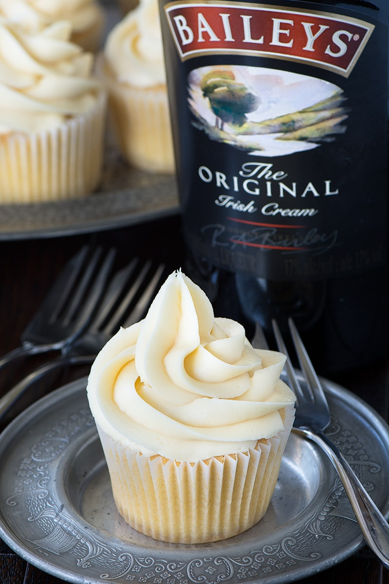 These Baileys cupcakes are so simple to make there's really no excuse not to. Perfect topped with Baileys buttercream and perhaps a hidden Baileys truffle centre too!