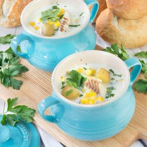 Smoked Haddock & Sweetcorn Chowder