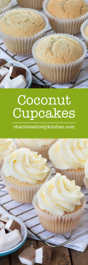 These coconut cupcakes are unbelievably easy to make and packed full of real coconut to give them lots of flavour.