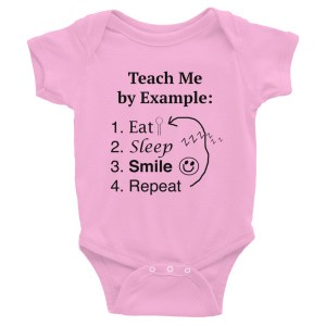 Eat Sleep Smile Onesie