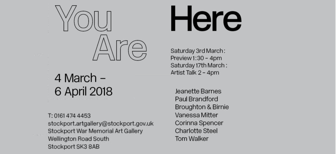 You Are Here Exhibition