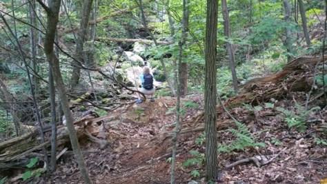 Hiking Crabtree Falls with Realtor Virginia Gardner 434-981-0871