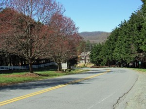 Redfields Neighborhood Street View in Albemarle County