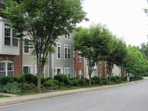 Townhomes in Cherry Hill Neighborhood in the City of Charlottesville