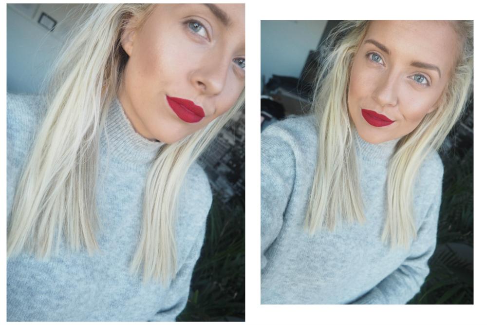røde lepper red lips