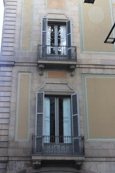 Windows on La Rambla