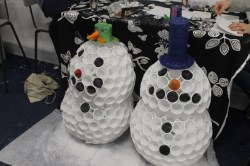 Mike and Graham's snowmen!