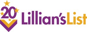 Lillians List 20th Anniversary logo