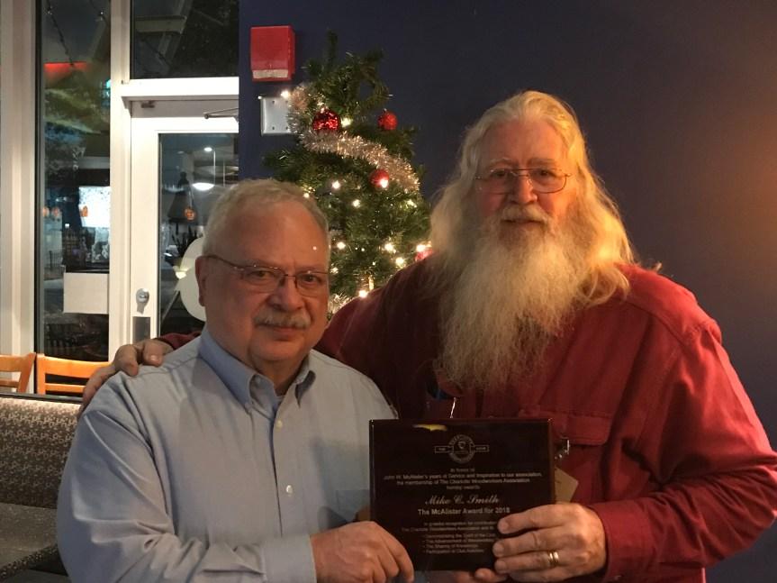 2018 McAlister Award