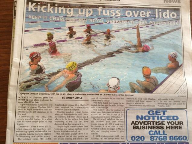 Charlton Mercury coverage - September 25 2013