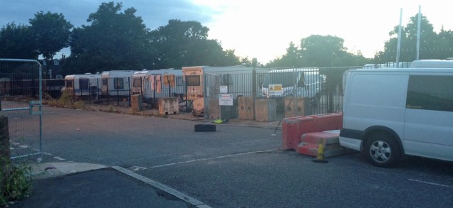 Travellers on Fairview New Homes site