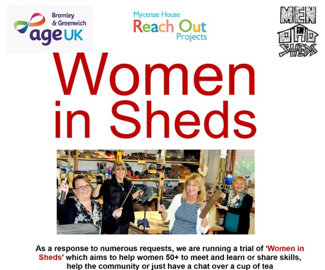 Women in Sheds flyer
