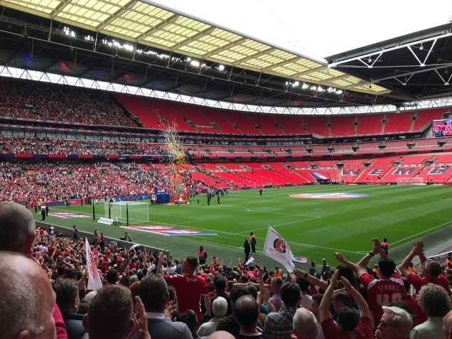 Charlton Athletic at Wembley